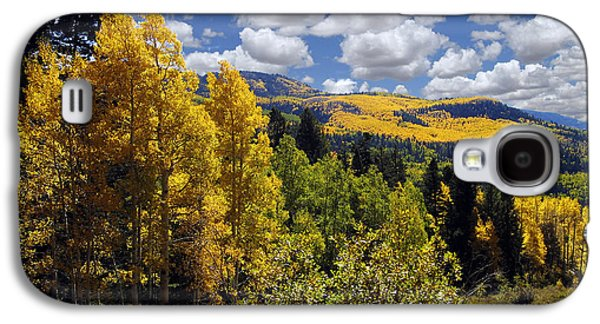 Recent Galaxy S4 Cases - Autumn in New Mexico Galaxy S4 Case by Kurt Van Wagner