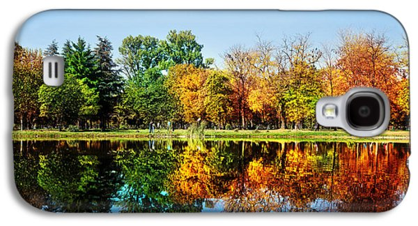 Autumn Landscape Photographs Galaxy S4 Cases - Autumn in October Galaxy S4 Case by Ivan Vukelic