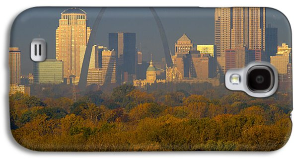 Autumn Landscape Pyrography Galaxy S4 Cases - Autumn in St Louis Galaxy S4 Case by Garry McMichael