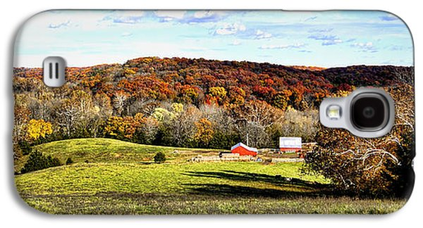 Autumn In The Country Galaxy S4 Cases - Autumn in the Country Galaxy S4 Case by Cricket Hackmann