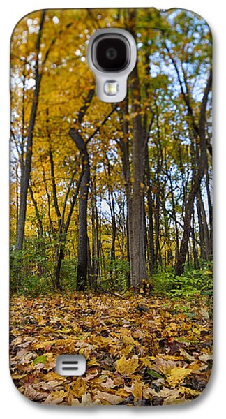 Autumn Foliage Photographs Galaxy S4 Cases - Autumn is Here Galaxy S4 Case by Sebastian Musial