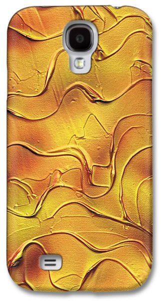 Weathered Reliefs Galaxy S4 Cases - Autumn. Galaxy S4 Case by Kenneth Clarke