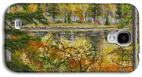 Beautiful Scenery Galaxy S4 Cases - Autumn Landscape in Kennebec Highlands of Maine Galaxy S4 Case by Keith Webber Jr