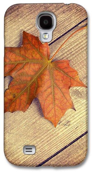 Autumn Leaf Galaxy S4 Cases - Autumn Leaf Galaxy S4 Case by Amanda And Christopher Elwell