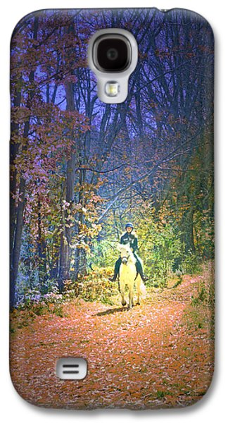 Girl Galaxy S4 Cases - Autumn Memories- The Dreams of Children Galaxy S4 Case by Patricia Keller