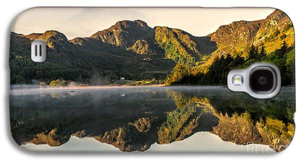 Autumn Landscape Digital Art Galaxy S4 Cases - Autumn Mist  Galaxy S4 Case by Adrian Evans