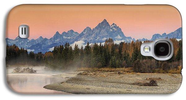 Beauty Mark Galaxy S4 Cases - Autumn Mist Galaxy S4 Case by Mark Kiver