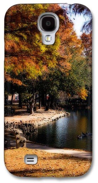 Autumn On Theta Galaxy S4 Case by Lana Trussell