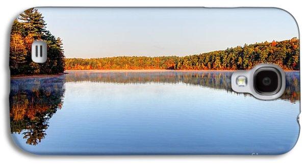 Walden Pond Galaxy S4 Cases - Autumn on Walden Pond Galaxy S4 Case by Denis Tangney Jr