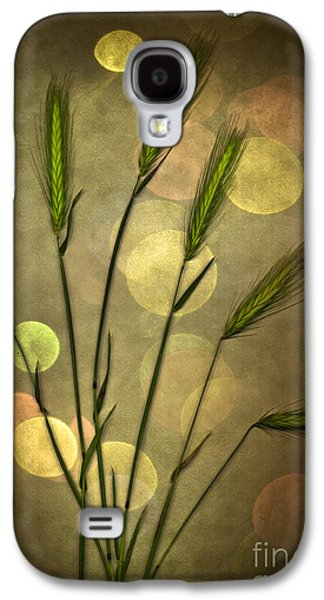 Fall Grass Galaxy S4 Cases - Autumn Party Galaxy S4 Case by Jan Bickerton