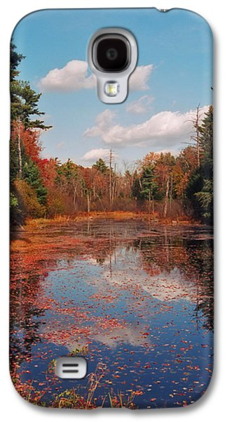Reflections In River Galaxy S4 Cases - Autumn Reflections Galaxy S4 Case by Joann Vitali