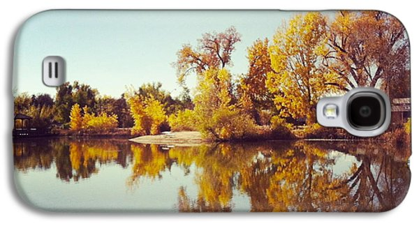 Fort Collins Galaxy S4 Cases - Autumn Reflections Galaxy S4 Case by Lora Louise