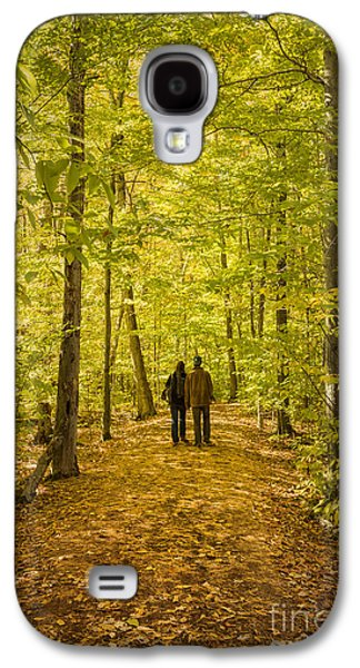 Ithaca Galaxy S4 Cases - Autumn Song Galaxy S4 Case by Evelina Kremsdorf