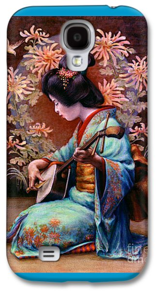 Occupy Beijing Galaxy S4 Cases - Autumn Song Galaxy S4 Case by Jane Bucci