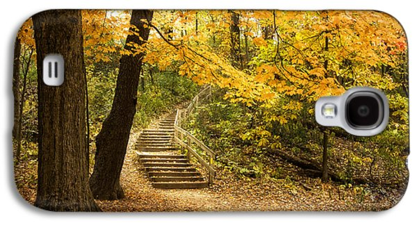 Autumn Stairs Galaxy S4 Case by Scott Norris