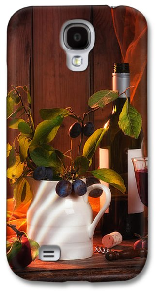 Country Cottage Galaxy S4 Cases - Autumn Still Life Galaxy S4 Case by Amanda And Christopher Elwell