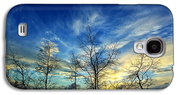 Photographic Art Galaxy S4 Cases - Autumn Sunset Galaxy S4 Case by Bill Caldwell -        ABeautifulSky Photography