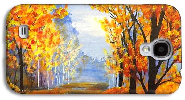 Autumn Trail Galaxy S4 Case by Darren Robinson