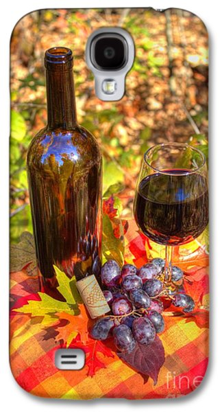 Vino Photographs Galaxy S4 Cases - Autumn Wine Galaxy S4 Case by Jimmy Ostgard