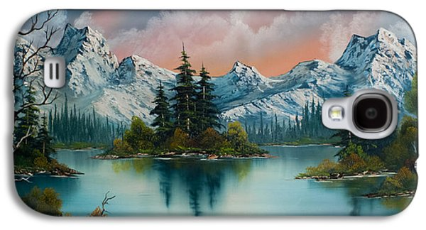 Wilderness Paintings Galaxy S4 Cases - Autumns Glow Galaxy S4 Case by C Steele