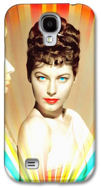 Statue Portrait Mixed Media Galaxy S4 Cases - Ava Gardner in One Touch of Venus Galaxy S4 Case by Art Cinema Gallery