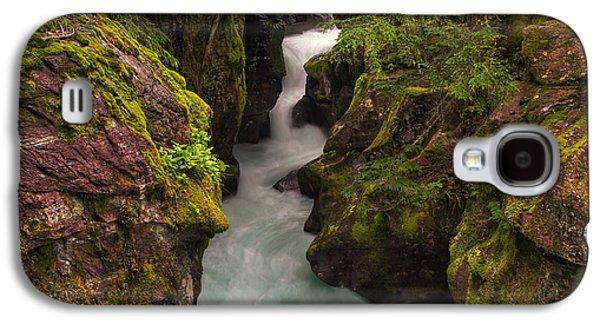 Moss Galaxy S4 Cases - Avalanche Falls Galaxy S4 Case by Mark Kiver