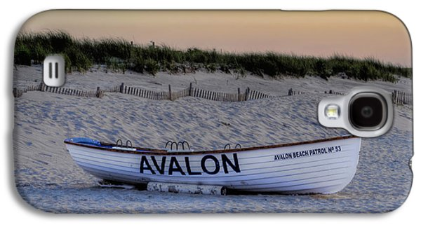 Sanddunes Galaxy S4 Cases - Avalon Lifeboat Galaxy S4 Case by Bill Cannon