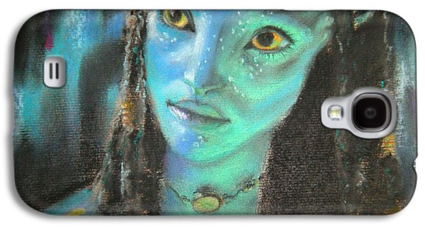 Science Fiction Pastels Galaxy S4 Cases - Avatar Galaxy S4 Case by Lori Ippolito