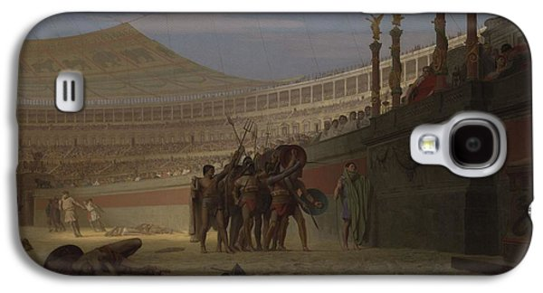Ave Caesar Morituri Te Salutant , 1859 Galaxy S4 Case by Jean Leon Gerome