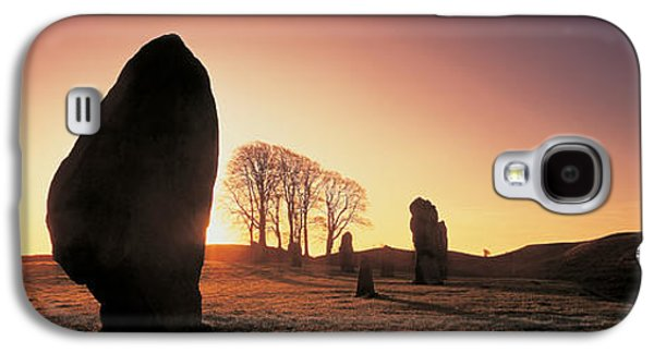 Religious Galaxy S4 Cases - Avebury Wiltshire England Galaxy S4 Case by Panoramic Images
