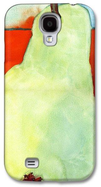 Pear Art Galaxy S4 Cases - Avery Style Pear Art Galaxy S4 Case by Blenda Studio