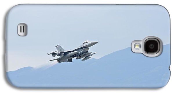 Aviano F16 Galaxy S4 Case by Staff Sgt Jessica Hines