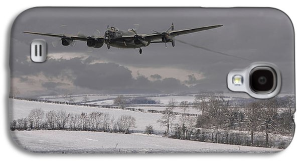 Avro Lancaster - Limping Home Galaxy S4 Case by Pat Speirs