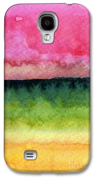 Colorful Abstract Galaxy S4 Cases - Awakened Galaxy S4 Case by Linda Woods