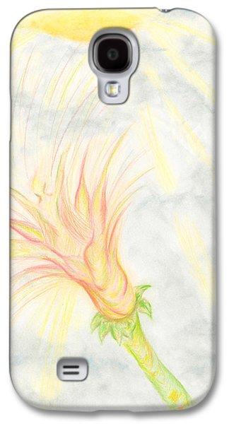 Kim Drawings Galaxy S4 Cases - Awakening Galaxy S4 Case by Kim Sy Ok