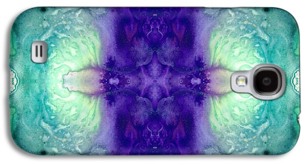 Affirmation Galaxy S4 Cases - Awakening Spirit - Pattern Art By Sharon Cummings Galaxy S4 Case by Sharon Cummings