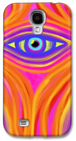 Daina White Galaxy S4 Cases - Awakening the Desert Eye Galaxy S4 Case by Daina White