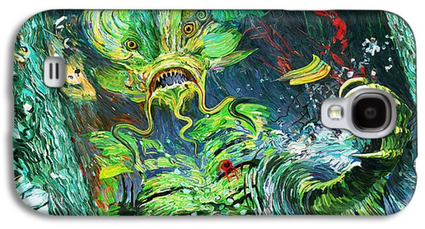 The Void Galaxy S4 Cases - Awakening Upon Death of the Bride of the Creature Galaxy S4 Case by Eric Wayne