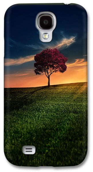 Sun Rays Galaxy S4 Cases - Awesome Solitude Galaxy S4 Case by Bess Hamiti