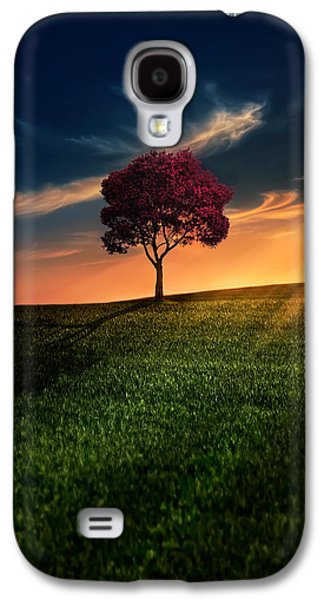 Sunset Galaxy S4 Cases - Awesome Solitude Galaxy S4 Case by Bess Hamiti