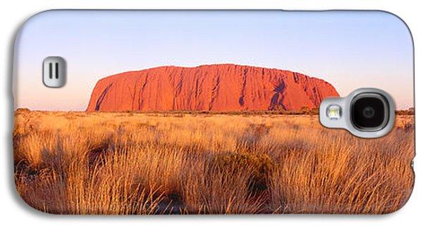 Monolith Galaxy S4 Cases - Ayers Rock, Uluru-kata Tjuta National Galaxy S4 Case by Panoramic Images