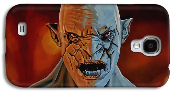 Monster Galaxy S4 Cases - Azog The Orc Galaxy S4 Case by Paul  Meijering