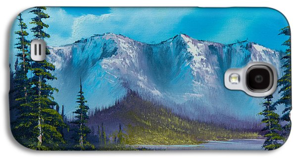 Recently Sold -  - Bob Ross Paintings Galaxy S4 Cases - Azure Ridge Galaxy S4 Case by C Steele