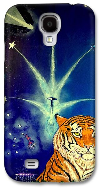 Jet Star Sculptures Galaxy S4 Cases -  Bennie with and the Jets Galaxy S4 Case by Benneth Wilson