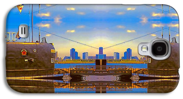 Photo Manipulation Galaxy S4 Cases - B-427 Sunshine Sectional Sub Galaxy S4 Case by Wendy J St Christopher
