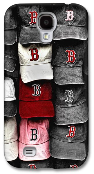 Pride Galaxy S4 Cases - B for BoSox Galaxy S4 Case by Joann Vitali