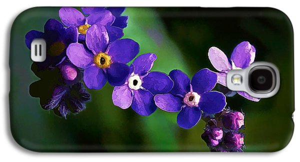 Photo Manipulation Galaxy S4 Cases - Baby Blues Galaxy S4 Case by Bill Caldwell -        ABeautifulSky Photography