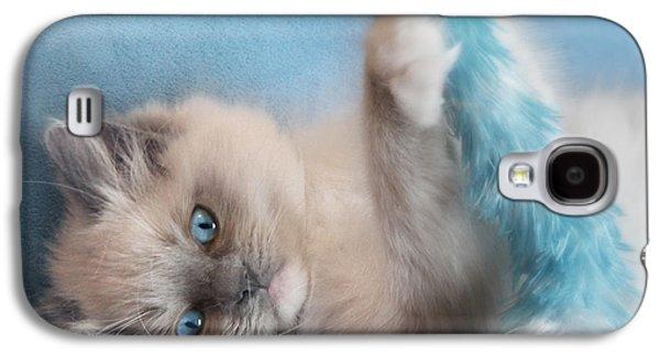 Baby Blues Galaxy S4 Case by Lori Deiter