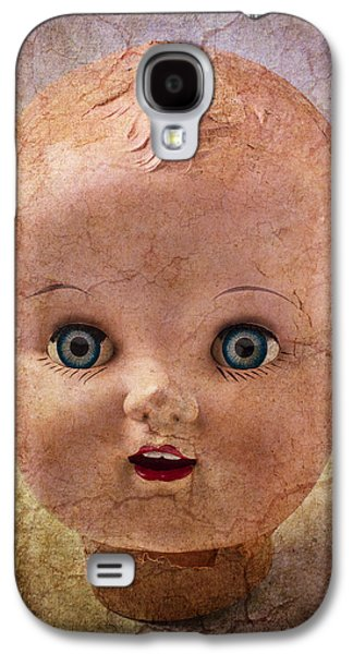 Fanciful Galaxy S4 Cases - Baby Doll Face Galaxy S4 Case by Garry Gay