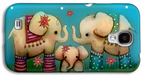 Baby Elephant Galaxy S4 Case by Karin Taylor